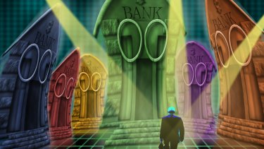 Banks, how do we loathe thee? Let us count the ways.