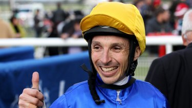 Confident: Jockey Danny Beasley says Bonfire is a class horse.