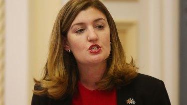 Minister for Women Shannon Fentiman.