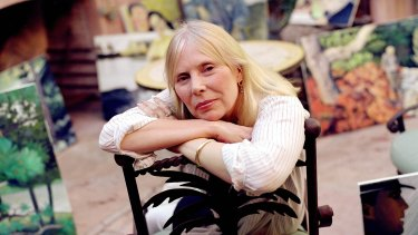"""""""I couldn't leave my house for several years"""": Joni Mitchell."""