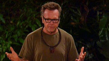 """Tom Arnold says he earned """"$600k, $700k"""" for his brief stint on Ten's I'm A Celebrity."""
