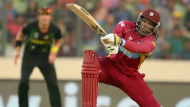 Chris Gayle is opposed to smaller bat sizes.