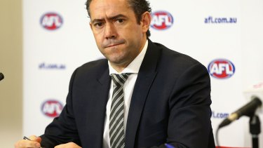 Former AFL football operations general manager Simon Lethlean had only been in the job a few months before resigning over a workplace affair.