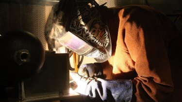 Vocational training students face an uncertain future after the collapse of a major provider.