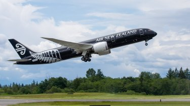 Air New Zealand is profiting from the country's tourist boom.