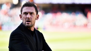 Looking to attack: Tony Popovic.