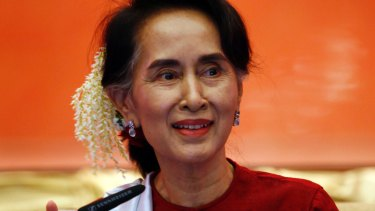 State Counsellor Aung San Suu Kyi is regarded as the de facto leader of Myanmar.