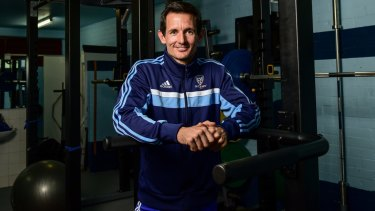 The man behind the man behind Sydney FC: Andrew Clark.