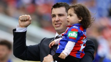 Court case: James McManus with his daughter Emelyn.