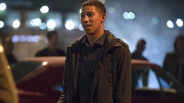 Keiynan Lonsdale plays Wally West in DC Comics' The Flash.