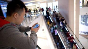 Skyfii's free wireless internet service monitors shoppers' habits.