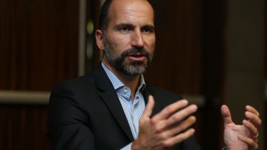 Dara Khosrowshahi says the company will change for the better under his leadership.