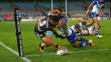 FInding the line: Valentine Holmes.