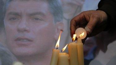 Kasparov's ally Boris Nemtsov, who was shot near the Kremlin in February.