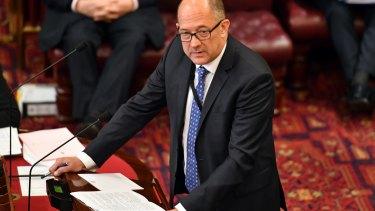 Trevor Khan read the bill into parliament.