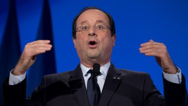 Change of tack: French President Francois Hollande has called for sanctions against Russia to be lifted.