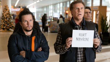 Will Ferrell and Mark Wahlberg in Daddy's Home 2.