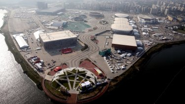 Olympic Park in Rio, as pictured in July this year.