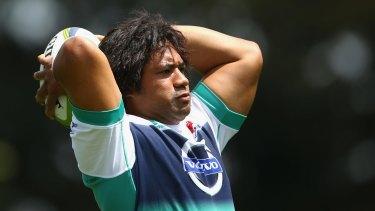 Big loss: Tatafu Polota-Nau.