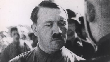 Nazi leader Adolf Hitler
