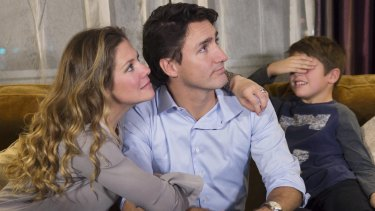Xavier Trudeau is all of us after reading Sophie Gregoire Trudeau's IWD post on Facebook.