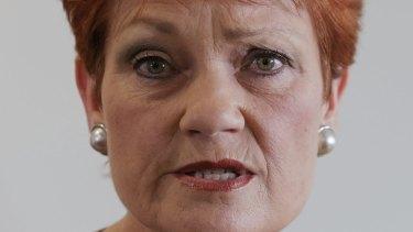 Senator Pauline Hanson took up the invitation to visit LNP member for Buderim Steve Dickson.