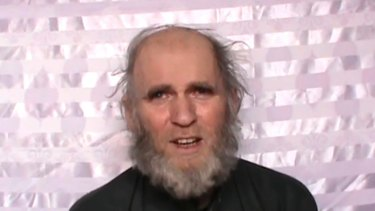 American professor Kevin King is gravely ill, the Taliban said.