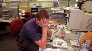 Work stressors and job insecurity can contribute to suicidal thoughts
