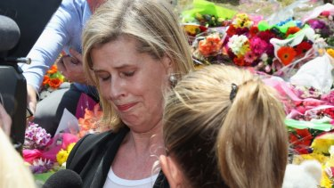 Ardent Leisure CEO Deborah Thomas after a private memorial was held at Dreamworld.
