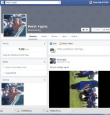 There have been several versions of the Perth Fights Facebook page - but the original resurfaced again this week.