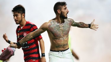 Kerem Bulut, of the Western Sydney Wanderers, has been charged with intimidation.