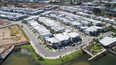 Fairwater is a new geo-thermal cooled mini-suburb near Blacktown.