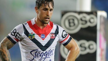 Mitchell Pearce may be heading for the exit at Bondi Junction.