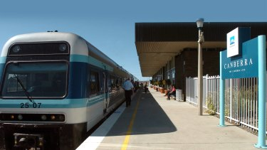 A leading rail business is exploring ways to cut the Canberra-Sydney trip to two hours.