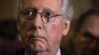 Senate Majority Leader Mitch McConnell pulled the pin on the health care vote.