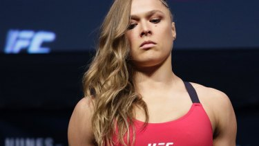 Contemplating her next move: It remains to be seen whether Ronda Rousey will fight in the Octagon again.