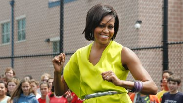 Michelle Obama has been unlike many first ladies as she wears brilliant colours and would dance with high-school rap groups.