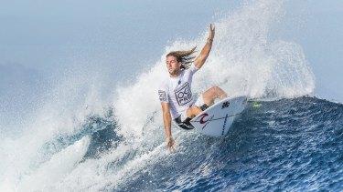 Fresh heights: Australia's Matt Wilkinson.