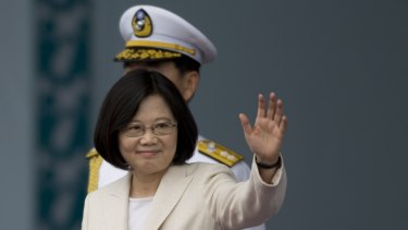 Taiwanese President Tsai Ing-wen: since her swearing-in she has been the focus of attacks in Chinese media.