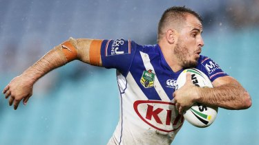 Off and running: Bulldogs playmaker Josh Reynolds will join the Wests Tigers in 2018.