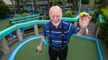 Tom Wykoff, who originally built Putt Putt in 1969 at Ermington.