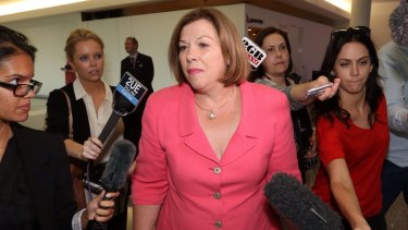 Teresa Gambaro has seen off an LNP preselection challenge for her seat of Brisbane.