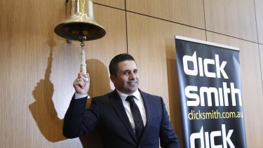 Dick Smith CEO Nick Abboud was appointed by Anchorage in 2012.