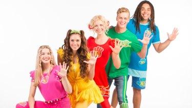 Hi-5: Bailey, Courtney, Shay, Lachie and Joe.