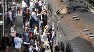 Passengers have been forced onto older, non-airconditioned trains following the new timetable launch last weekend.