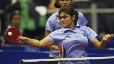 India's Madhurika Sushas Patkar, left, and Shamini Kumaresan will face Australia for a bronze medal.