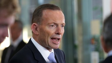 Warned he faces an internal backlash over same-sex marriage: Prime Minister Tony Abbott.