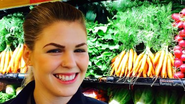 Belle Gibson, creator of The Whole Pantry app.