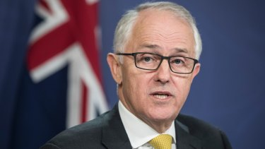 Prime Minister Malcolm Turnbull has spoken up abut the attack in Melbourne.