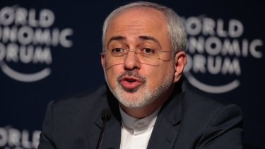 Mohammad Javad Zarif, Iran's foreign secretary, recently visited Australia.